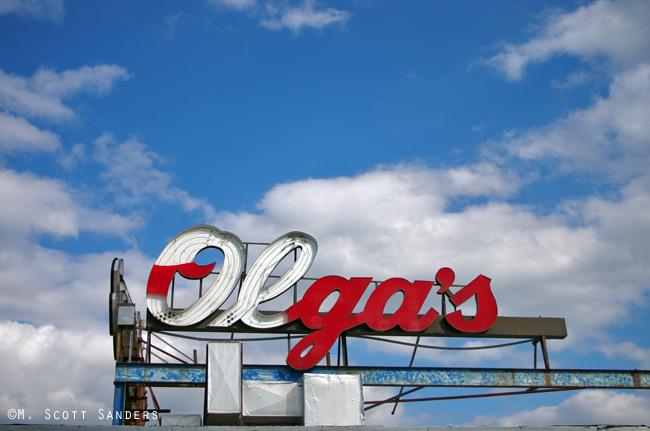 Olga's Diner, Sunny side, Marlton, NJ